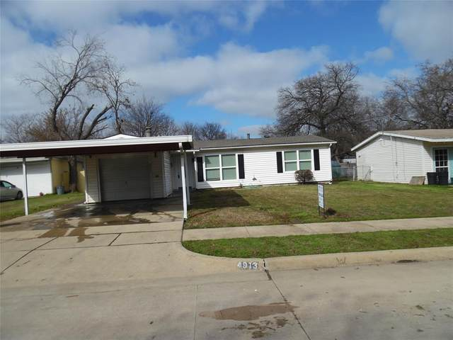 4913 Monna Street, Haltom City, TX 76117 (MLS #14281416) :: Tenesha Lusk Realty Group
