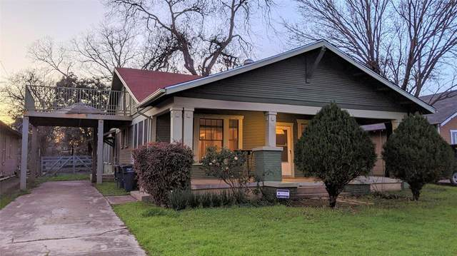 3020 College Avenue, Fort Worth, TX 76110 (MLS #14281612) :: Ann Carr Real Estate