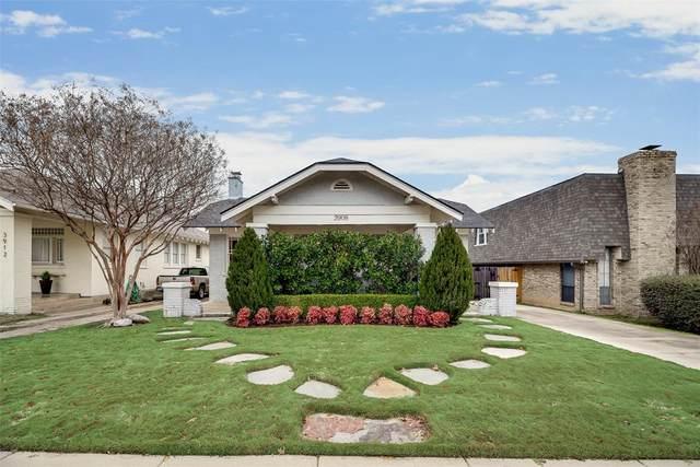 3908 Clarke Avenue, Fort Worth, TX 76107 (MLS #14281814) :: Caine Premier Properties