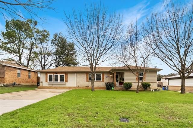 856 Dora Street, Bedford, TX 76022 (MLS #14281908) :: The Kimberly Davis Group