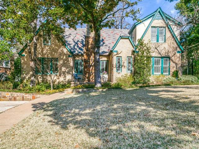 1533 W Colorado Boulevard, Dallas, TX 75208 (MLS #14282081) :: Real Estate By Design