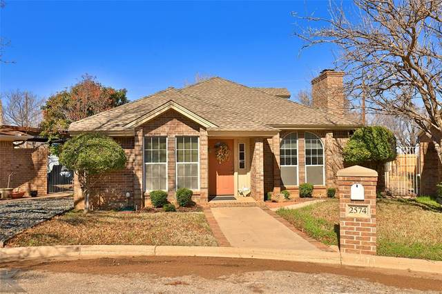 2574 Sunnibrook Court, Abilene, TX 79601 (MLS #14282197) :: The Good Home Team