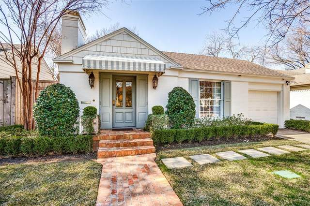 4623 Westside Drive, Highland Park, TX 75209 (MLS #14282247) :: Potts Realty Group