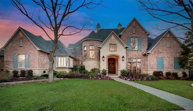 6816 Fallbrook Court, Colleyville, TX 76034 (MLS #14282267) :: The Mauelshagen Group