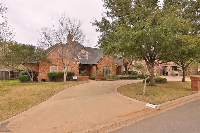 12 Glen Abbey Court, Abilene, TX 79606 (MLS #14282328) :: The Chad Smith Team