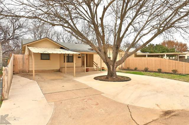 1741 Woodard Street, Abilene, TX 79605 (MLS #14282438) :: Ann Carr Real Estate