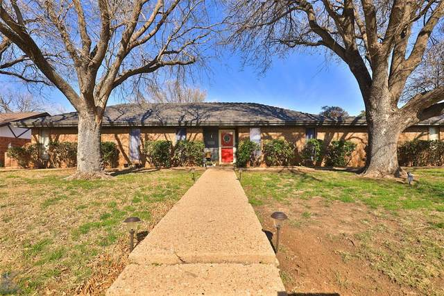 3717 Santa Monica Drive, Abilene, TX 79605 (MLS #14282640) :: Ann Carr Real Estate