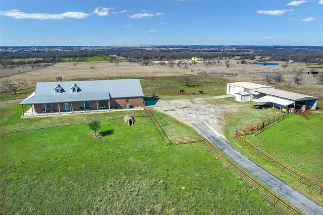 12920 County Line Road N, Ponder, TX 76259 (MLS #14282770) :: The Kimberly Davis Group