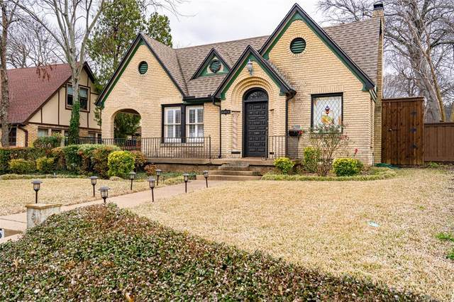 805 Newell Avenue, Dallas, TX 75223 (MLS #14282818) :: Vibrant Real Estate