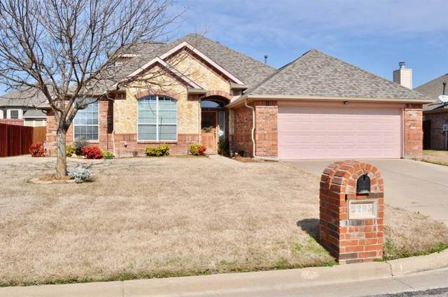 2205 Lorrie Lane, Weatherford, TX 76087 (MLS #14282954) :: The Chad Smith Team