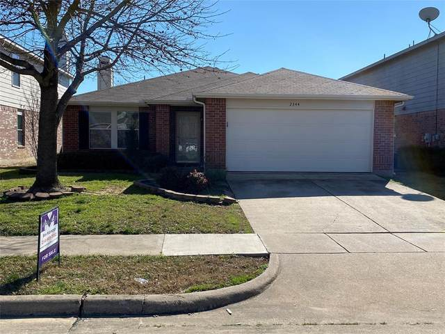 2344 White Oak Drive, Little Elm, TX 75068 (MLS #14283012) :: Real Estate By Design