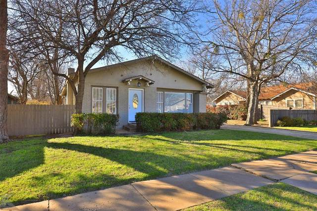 1134 Peach Street, Abilene, TX 79602 (MLS #14283023) :: Ann Carr Real Estate