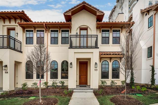 2800 Lakeside Parkway #103, Flower Mound, TX 75022 (MLS #14283222) :: Real Estate By Design