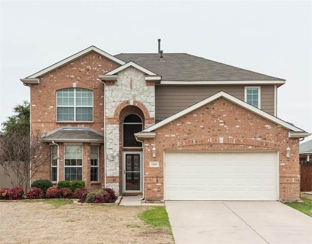 2101 Belmont Park Drive, Denton, TX 76210 (MLS #14283242) :: The Good Home Team