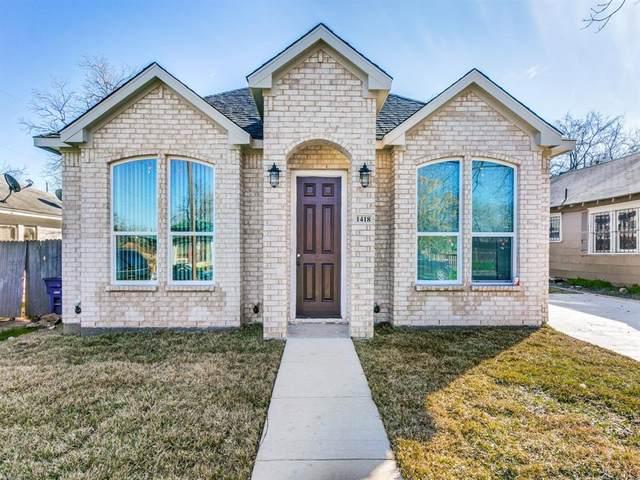 1418 Iowa Avenue, Dallas, TX 75216 (MLS #14283338) :: Vibrant Real Estate