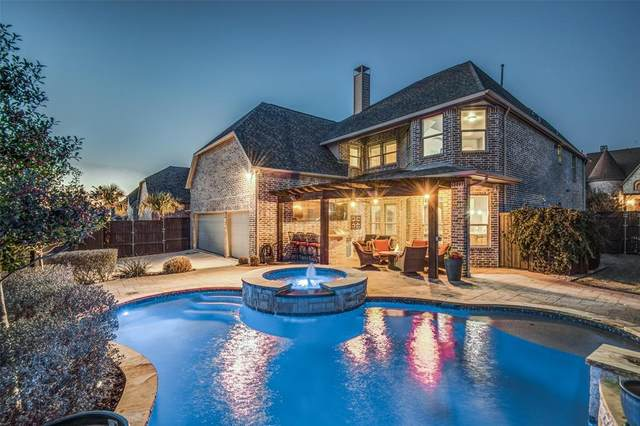 4057 Chevy Chase Lane, Frisco, TX 75033 (MLS #14283356) :: All Cities Realty