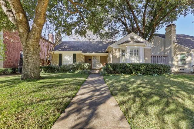 4428 Bryn Mawr Drive, University Park, TX 75225 (MLS #14283384) :: The Rhodes Team