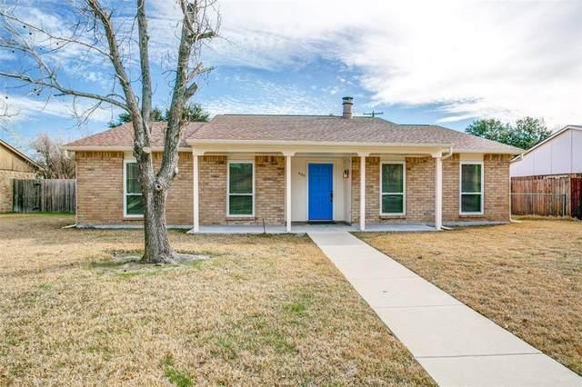 409 Sandy Knoll Drive, Coppell, TX 75019 (MLS #14283400) :: Team Tiller