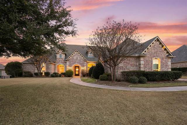 2160 Woodhaven Drive, Prosper, TX 75078 (MLS #14283544) :: All Cities Realty