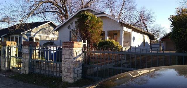 1426 Padgitt Avenue, Dallas, TX 75203 (MLS #14283592) :: Ann Carr Real Estate