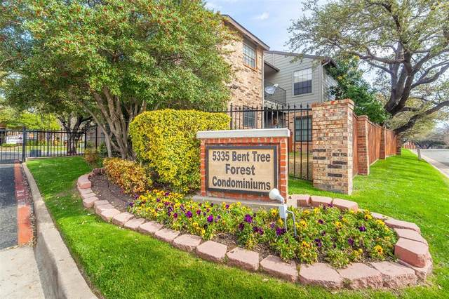 5335 Bent Tree Forest Drive #118, Dallas, TX 75248 (MLS #14283797) :: The Mauelshagen Group