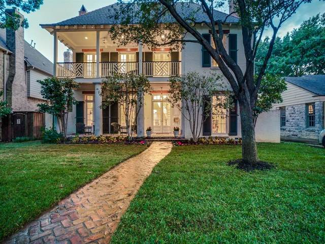4309 Amherst Avenue, University Park, TX 75225 (MLS #14283824) :: The Good Home Team