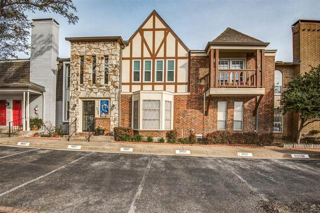 5939 Copperwood Lane #2153, Dallas, TX 75248 (MLS #14283853) :: The Good Home Team