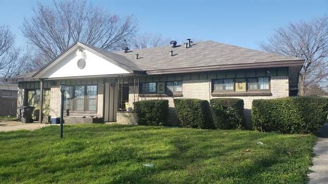 4613 Emerson Street, Fort Worth, TX 76119 (MLS #14283890) :: Ann Carr Real Estate