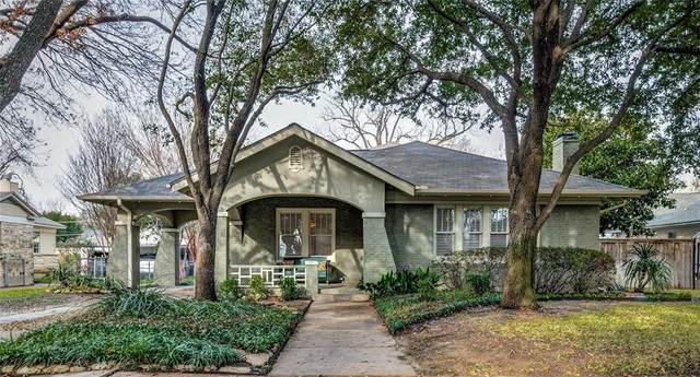 2536 Waits Avenue, Fort Worth, TX 76109 (MLS #14284022) :: EXIT Realty Elite