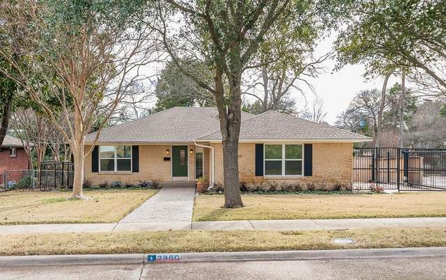 2360 Peavy Place, Dallas, TX 75228 (MLS #14284031) :: All Cities Realty
