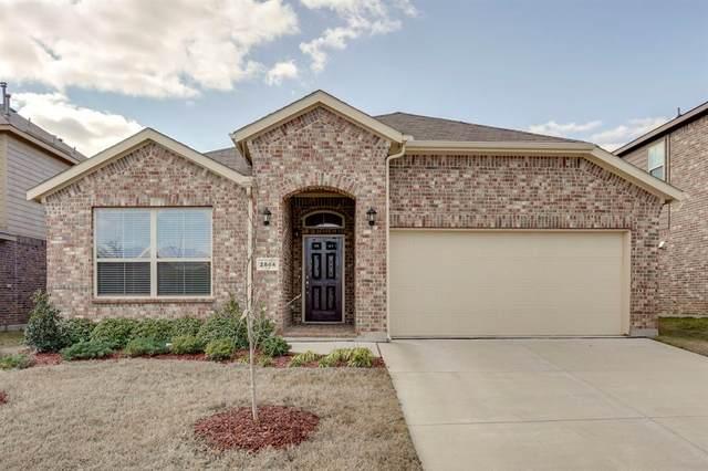 2844 Saddle Creek Drive, Fort Worth, TX 76177 (MLS #14284077) :: Tenesha Lusk Realty Group