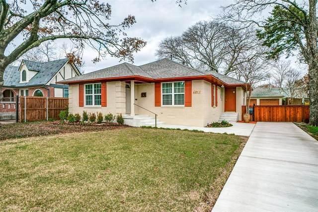 6853 Casa Loma Avenue, Dallas, TX 75214 (MLS #14284099) :: NewHomePrograms.com LLC