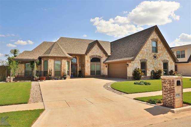 4501 Vista Del Sol, Abilene, TX 79606 (MLS #14284124) :: The Chad Smith Team