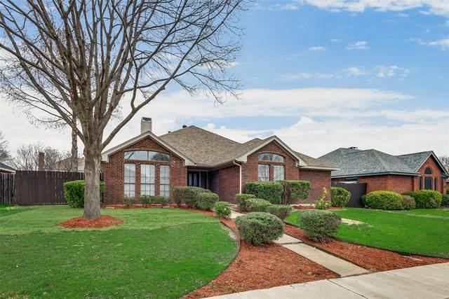 1025 Monarch Drive, Lewisville, TX 75067 (MLS #14284613) :: The Rhodes Team