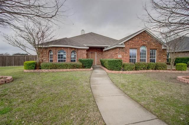 2501 Chapel Hill Drive, Rowlett, TX 75088 (MLS #14284662) :: The Real Estate Station