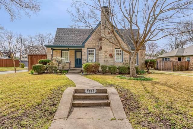 5226 Morningside Avenue, Dallas, TX 75206 (MLS #14284678) :: The Real Estate Station