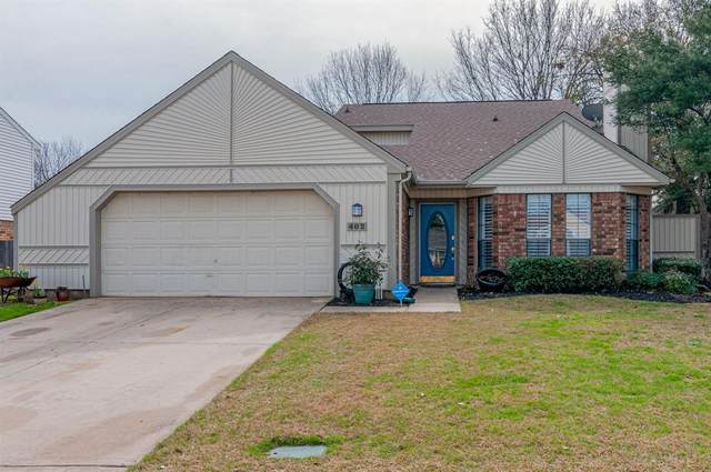402 Rosemary Lane, Euless, TX 76039 (MLS #14284695) :: The Chad Smith Team