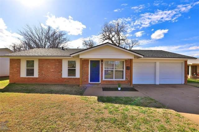 1956 Glenhaven Drive, Abilene, TX 79603 (MLS #14284776) :: RE/MAX Pinnacle Group REALTORS