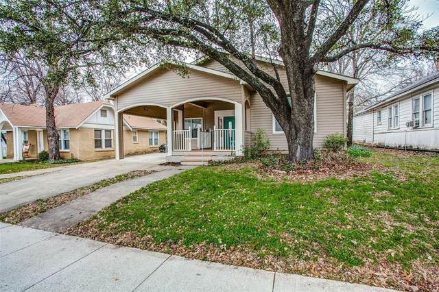 2921 8th Avenue, Fort Worth, TX 76110 (MLS #14284895) :: The Mitchell Group