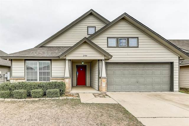 2304 Arrowhead Drive, Denton, TX 76207 (MLS #14284933) :: Trinity Premier Properties