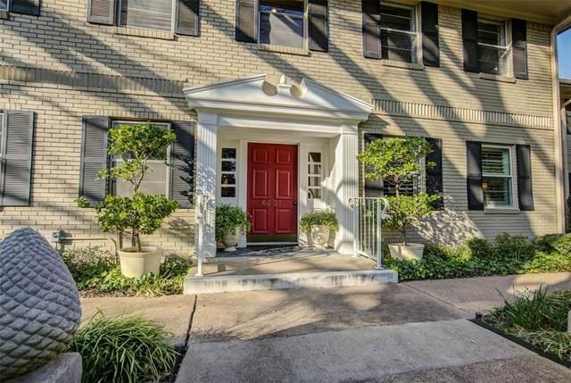 6231 Bandera Avenue D, Dallas, TX 75225 (MLS #14284981) :: The Mitchell Group