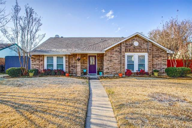 552 Gillespie Drive, Allen, TX 75002 (MLS #14284993) :: All Cities Realty