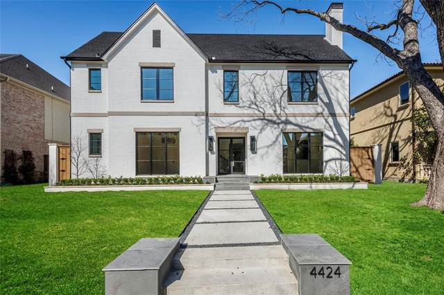4424 Stanhope Street, University Park, TX 75205 (MLS #14285202) :: The Rhodes Team