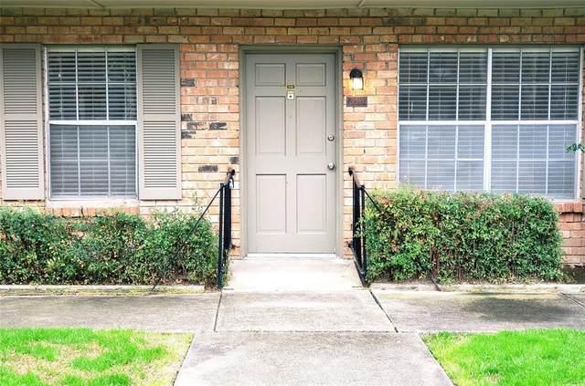 3510 Parkridge Drive #116, Dallas, TX 75234 (MLS #14285543) :: Van Poole Properties Group