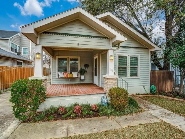 815 Turner Avenue, Dallas, TX 75208 (MLS #14285554) :: HergGroup Dallas-Fort Worth