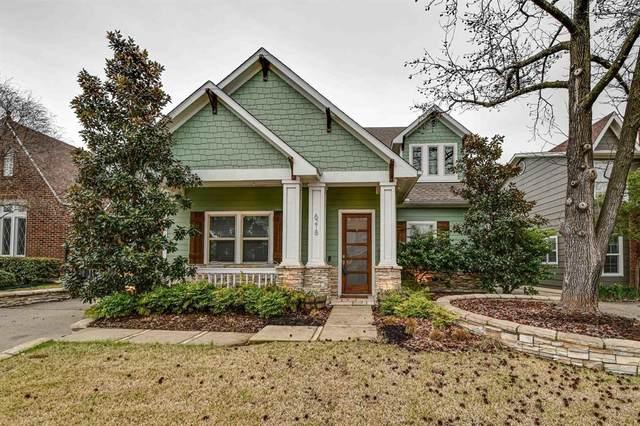 6218 Llano Avenue, Dallas, TX 75214 (MLS #14285623) :: The Real Estate Station