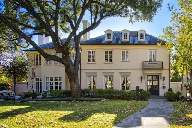 3801 Maplewood Avenue, Highland Park, TX 75205 (MLS #14285674) :: The Kimberly Davis Group