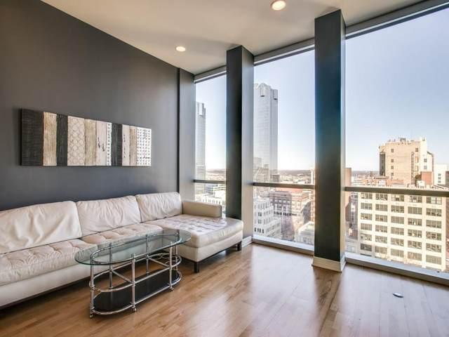 500 Throckmorton Street #1312, Fort Worth, TX 76102 (MLS #14285694) :: The Kimberly Davis Group