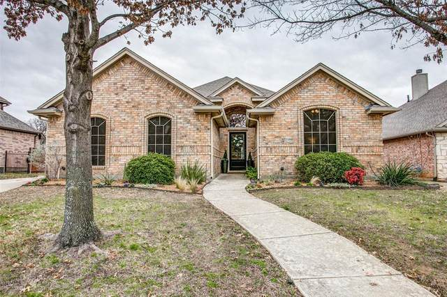 3616 Texas Trail, Hurst, TX 76054 (MLS #14285707) :: Team Tiller