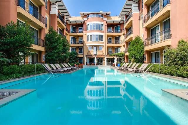 8616 Turtle Creek Boulevard #412, Dallas, TX 75225 (MLS #14285986) :: The Hornburg Real Estate Group